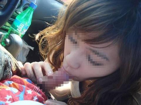 彼女とカーセックスした時に撮った素人露出エロ画像 a48bbd25