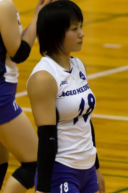 女子バレー吉村志穂のおっぱいが巨乳なエロ画像 a5007201