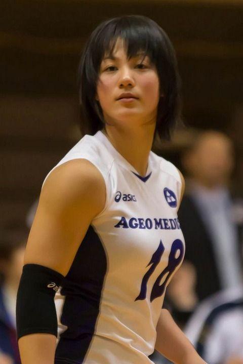 女子バレー吉村志穂のおっぱいが巨乳なエロ画像 a538d6eb