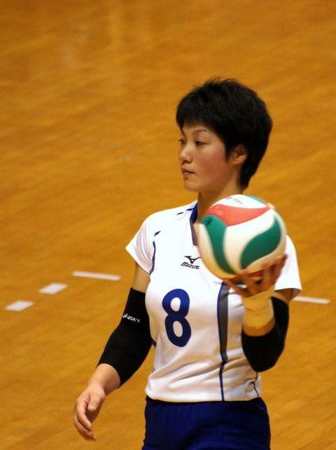 女子バレー吉村志穂のおっぱいが巨乳なエロ画像 afcc5247