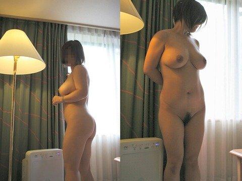 素人娘の巨乳おっぱいが結構美乳なエロ画像 d3cff582