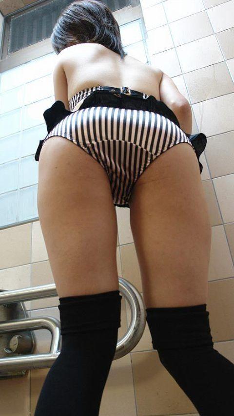 彼女のデカいお尻をドアップで撮影した素人エロ画像 ed5994f8