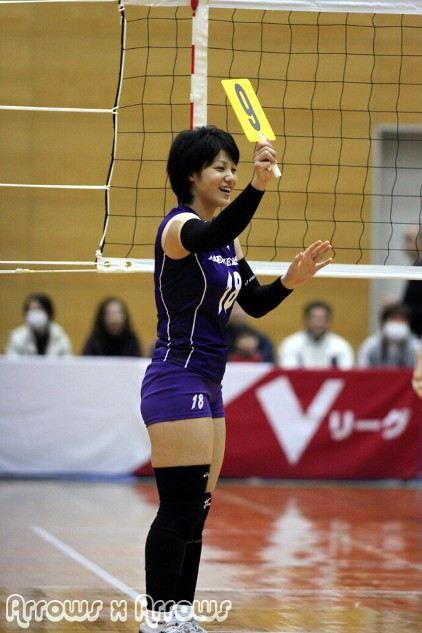 女子バレー吉村志穂のおっぱいが巨乳なエロ画像 fd945cb3